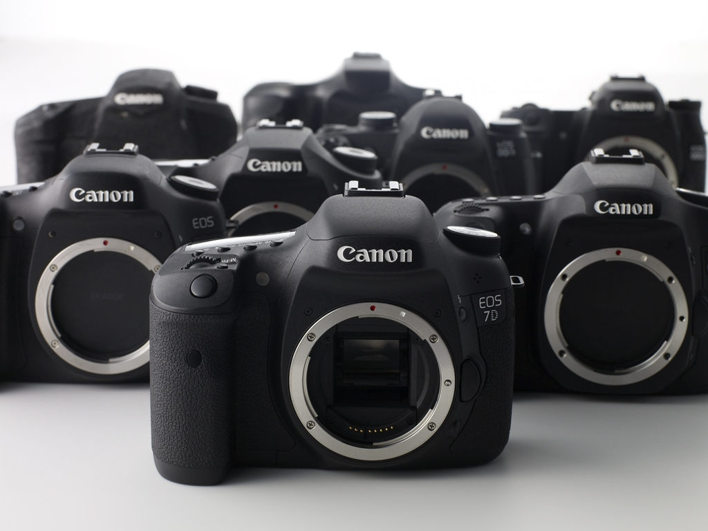 EOS 7D - product development